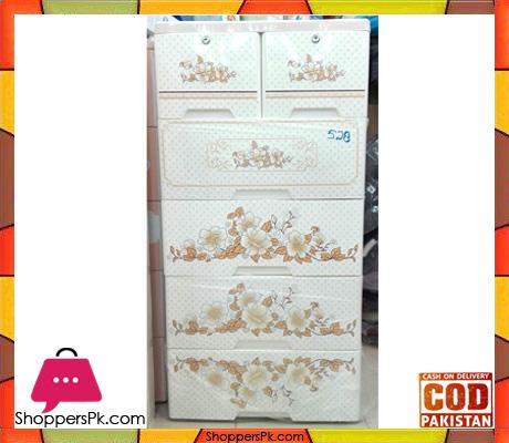 Cabinet Flower Plastic Drawers
