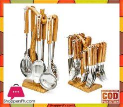caspian-abs-plastic-wooden-cutlery-set-kitchen-tool-set
