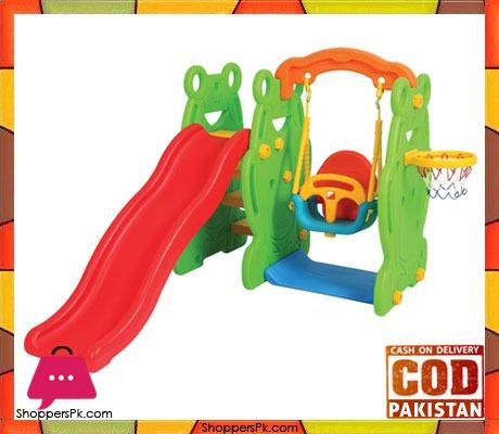 Edy Play Slide & Swing Set Frog- SL-6108