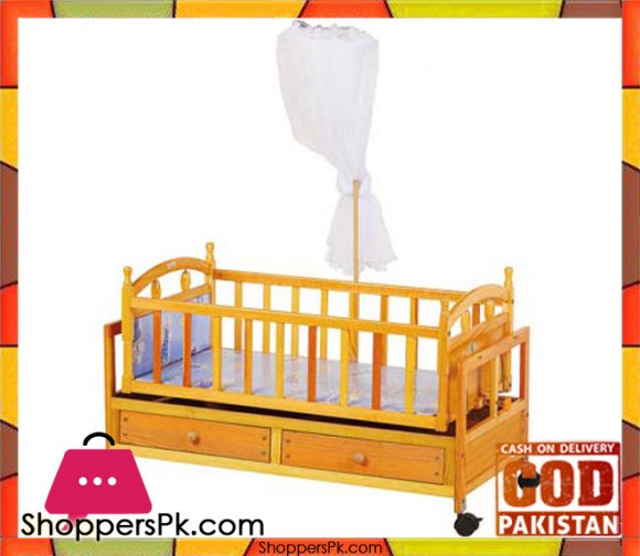 High Quality Wooden Baby Sleeping Cot