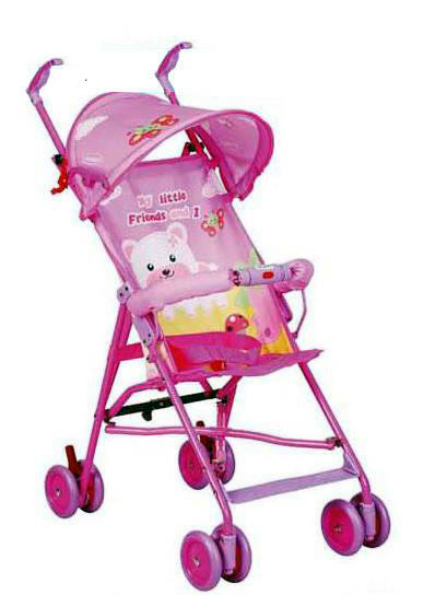 Pink Bear Baby Stroller Price in Pakistan.jpg