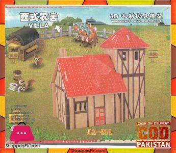 wood-craft-puzzle-villa