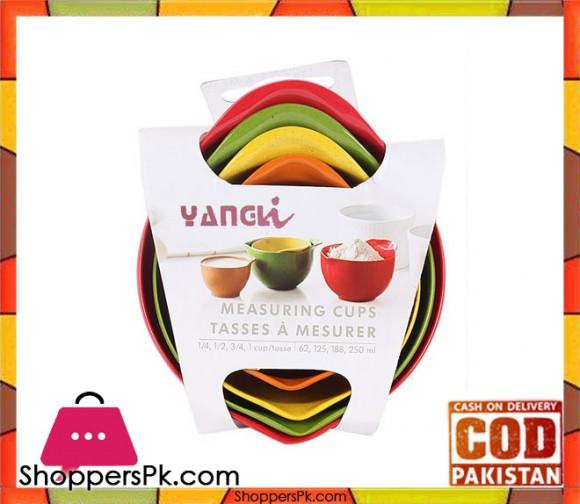 Yangi Plastic Measuring Cups Set of 4 Pcs
