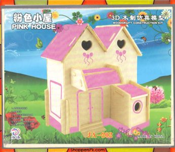 wood-craft-puzzle-pink-house