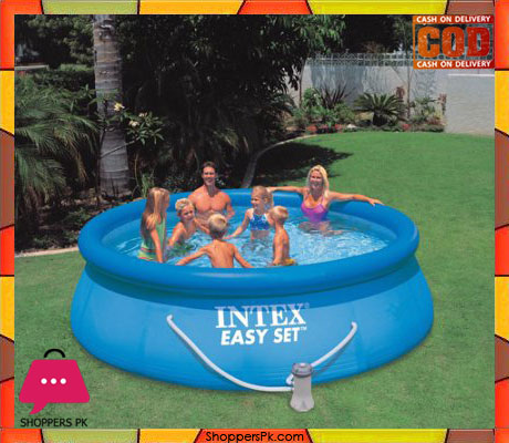 Intex Easy Set Up 12 Foot x 36 Inch Pool with Filter Pump - 56931