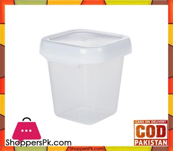 Lock Top Storage Container 0.6L Square