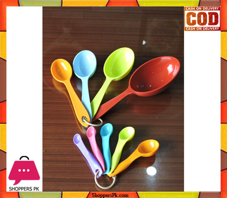 f08877023f2 Buy Multicolor MEASURING Cups And Spoons Set at Best Price in Pakistan