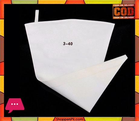 Reusable Cotton Cloth Piping Bag 3-40