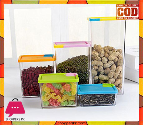 Stackable & Space-Savvy Pocket Block Container 6 pcs