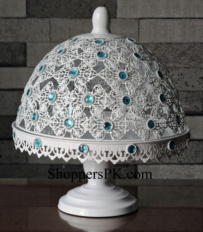 Buy White Lace Metal Cake Dome At Best Price In Pakistan