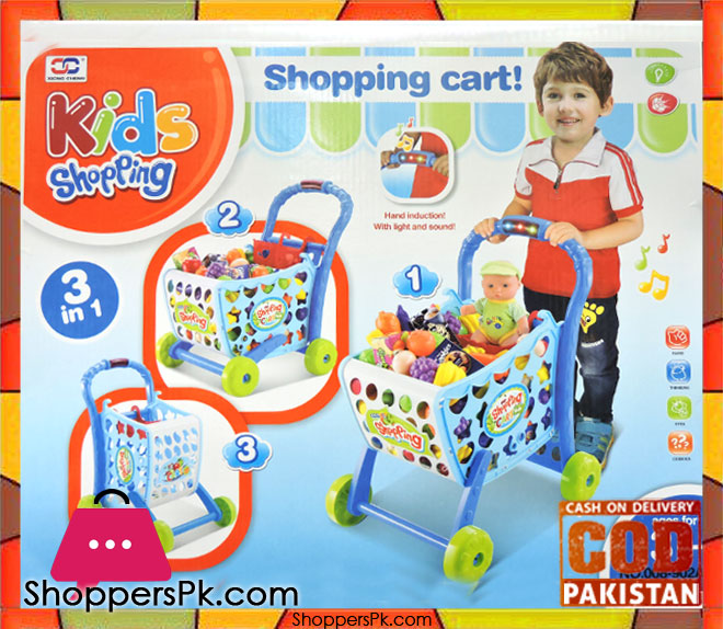 3-IN-1 Kids Shopping Cart 008-902A