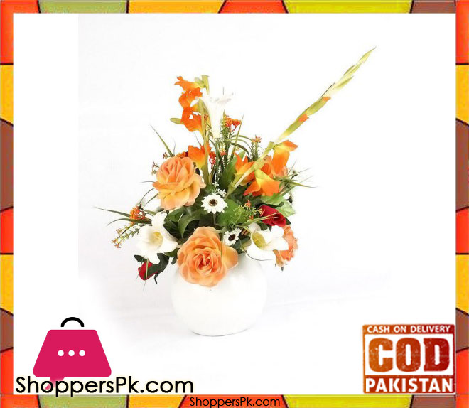 The florist living room center table flower arrangement for Living room trackid sp 006