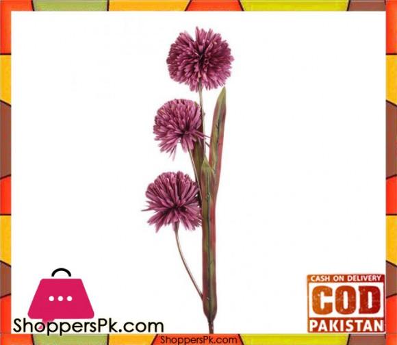 The Florist Purple Artificial Rubber Flower on Stick - FL92