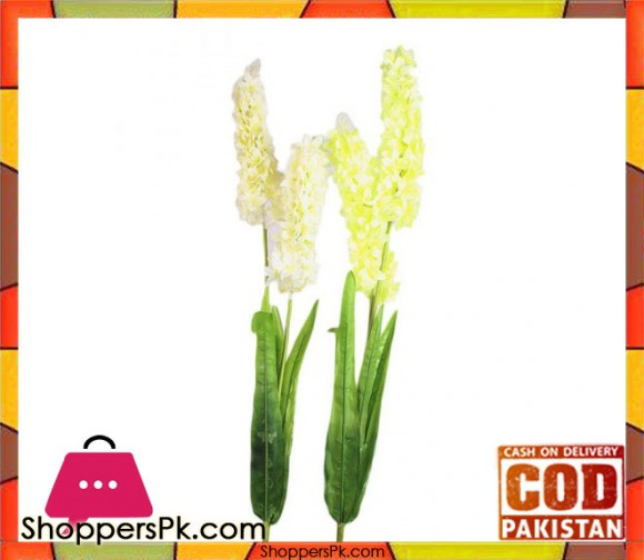 The Florist Yellow Artificial Blossom on Stick - 2 Pieces - FL101