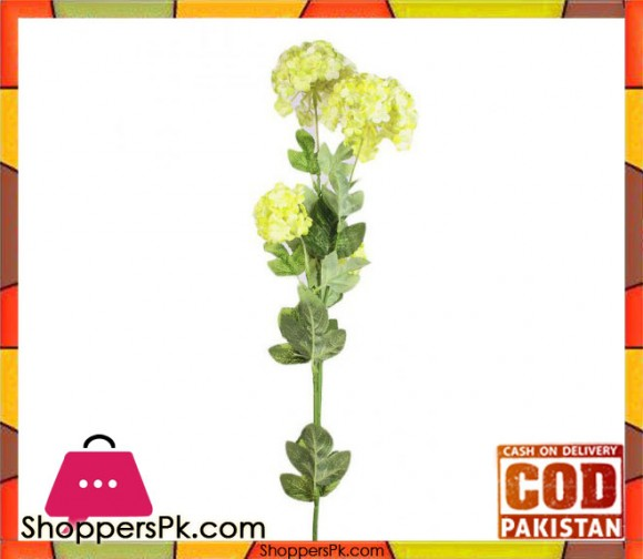 The Florist Yellow Artificial Blossom Petal on Stick - FL103
