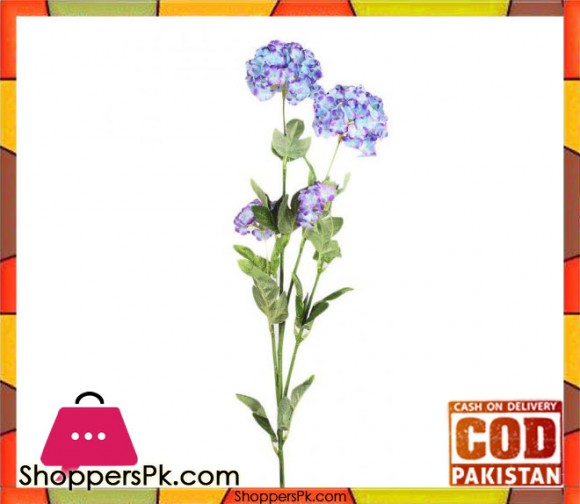 The Florist Blue Artificial Blossom Petal on Stick - FL104