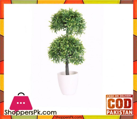 The Florist Green Artificial Plant with Pot - FL37