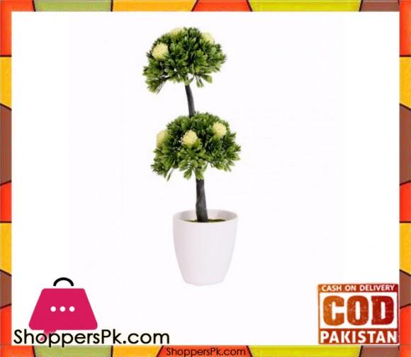 The Florist Multicolored Artificial Plant with Pot - FL40