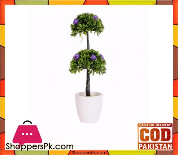 The Florist Multicolored Artificial Plant with Pot - FL42
