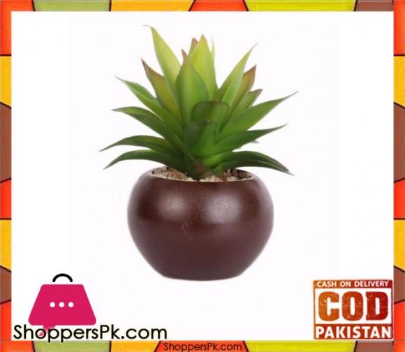 The Florist Artificial Cactus Plant with Pot - FL49