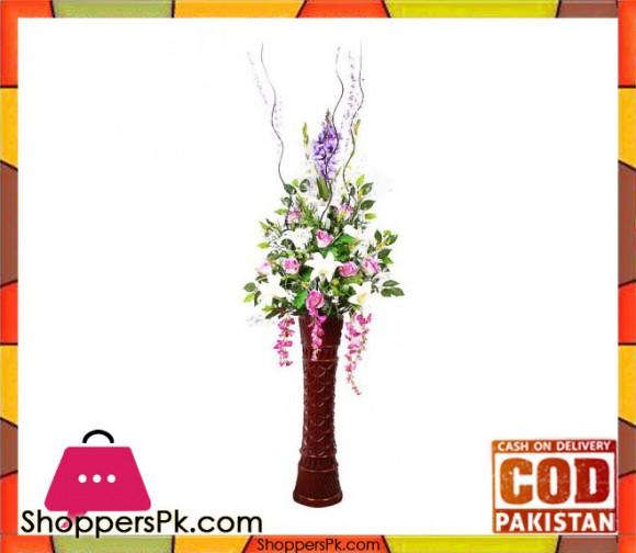 The Florist FLOR1 - Corner Flower Arrangement with Fibre Vase