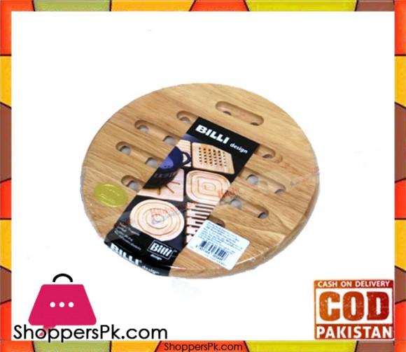 Billi Round Wood Mat 20cm