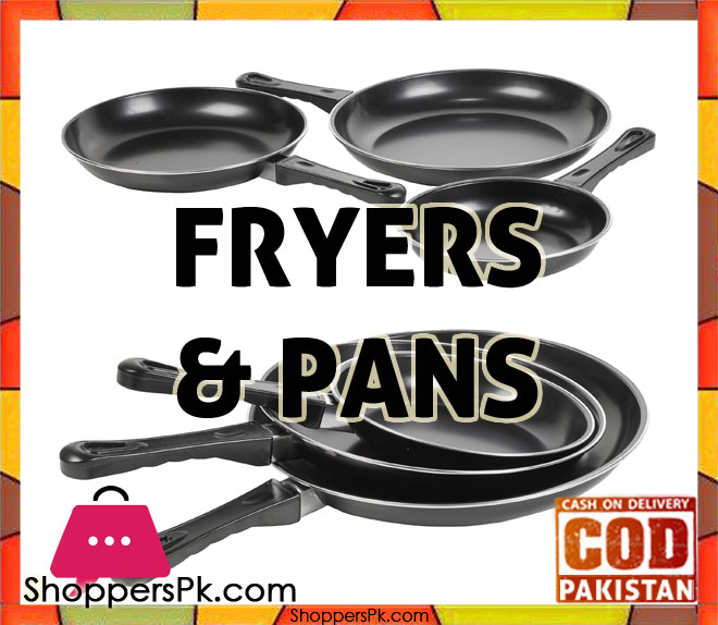 Fryers & Pans price in Pakistan