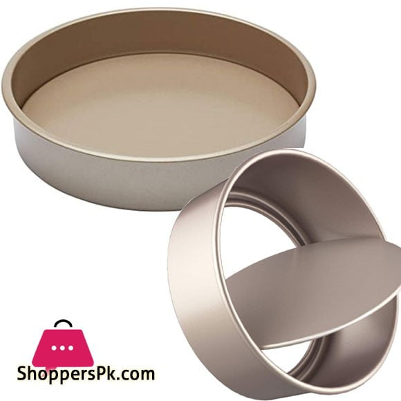 High Quality Non-stick Removable Bottom Round Shape Cake Pan 8 Inch