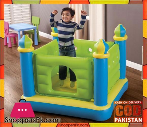 Intex Jump-O-Lene &- x2122; Castle Bouncer - Age 2-7 - 48257