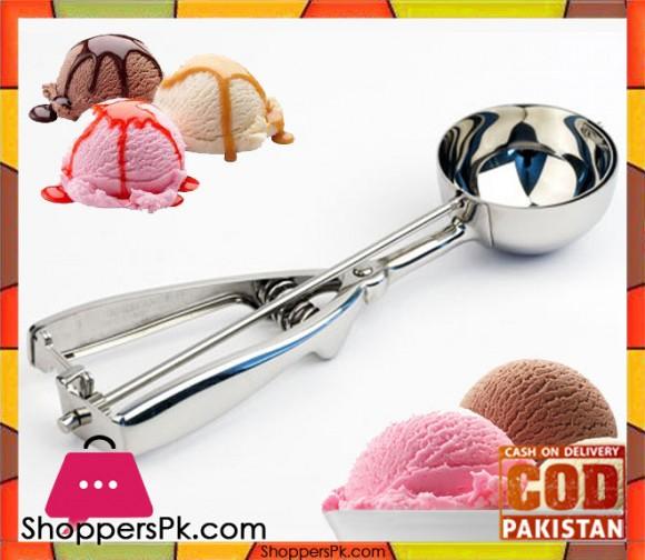 Ice Cream Scoop Stainless Steel