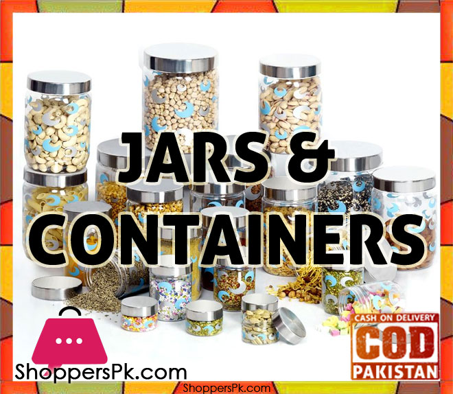 Jars & Containers price in Pakistan
