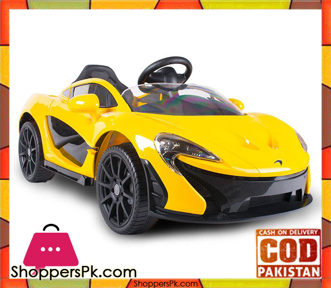 Buy 6v Mclaren Electric Kids Ride On Car 669r At Best Price In Pakistan