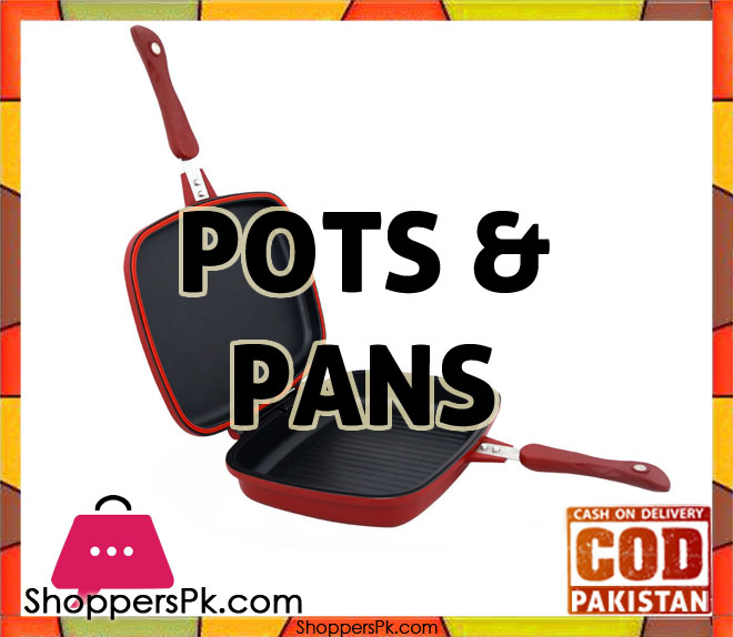 Grill Pan & Cook Pots price in Pakistan