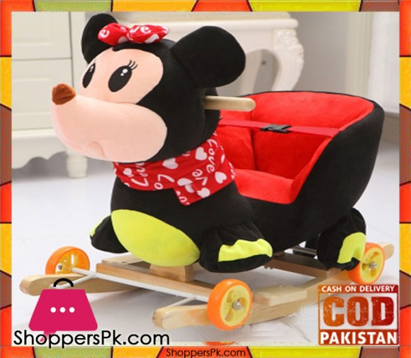 Rocking Plush Chair Minnie Mouse 2-4 Year Kids with Music