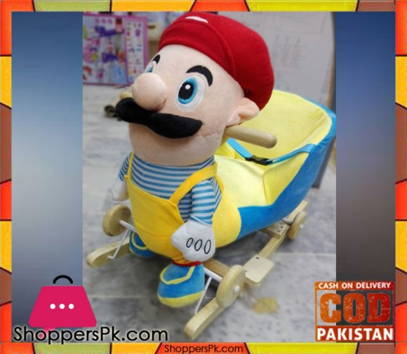 Rocking Plush Chair Super Mario 2-4 Year Kids