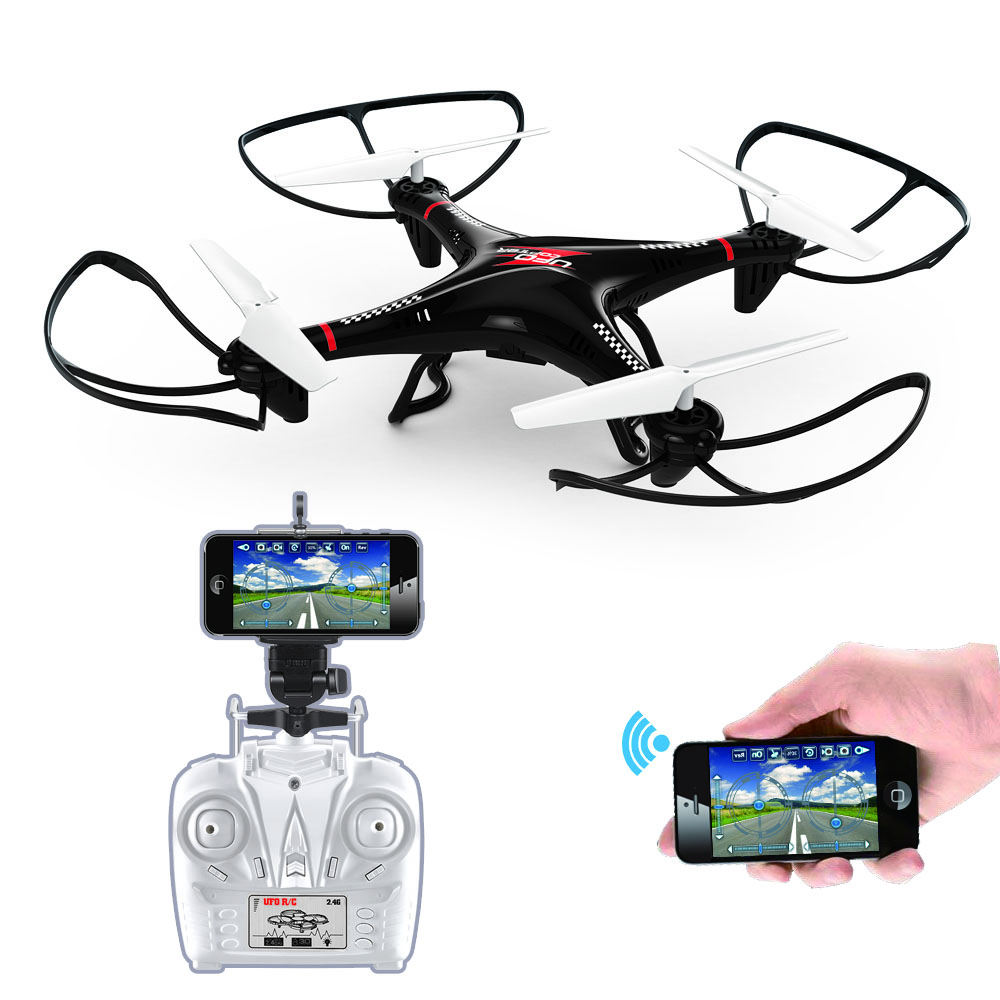 LH X10WF 24G 4CH Wifi Controller Mini Drone Quadcopter IPhone Android With FPV Camera