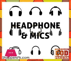 Headphone & Mics