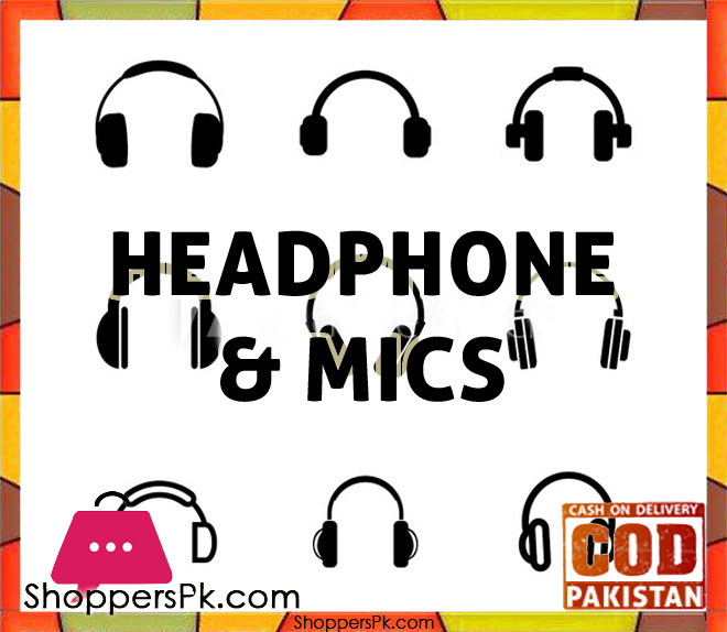 Headphone & Mics Price in Pakistan