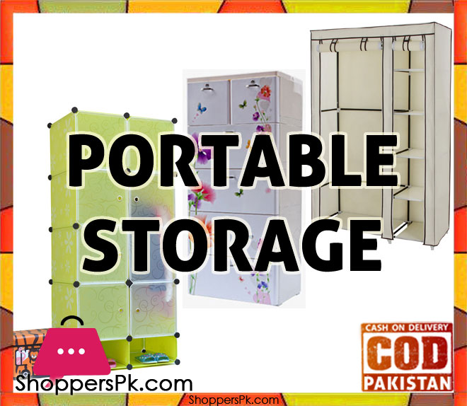portable plastic cupboards wardrobe storage in pakistan