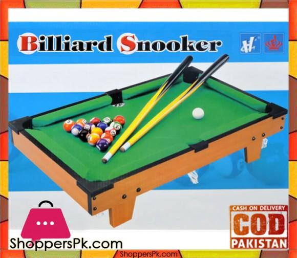 Billiard Tabletop Pool Table Game For Kids HG201D