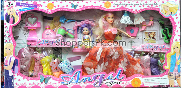 Doll Dress Toy Set