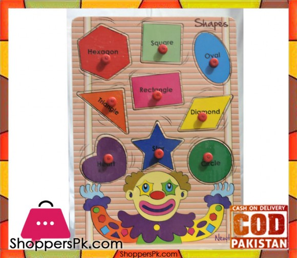 Early Educational Wooden Puzzle Toy Shapes