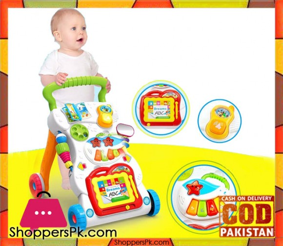 High Quality Learning Children Musical Activity Baby Walker