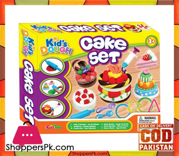 Kid's Dough Cake Set 11732