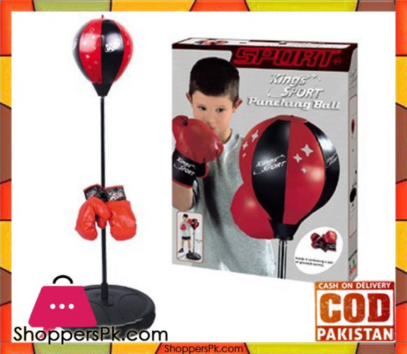 King Sport Boxing Punching Bag With Gloves Punching Ball for Kids