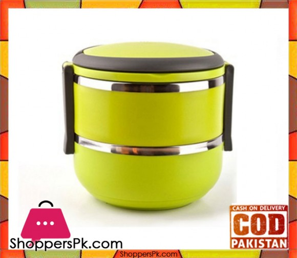 Lunch Box 2 Tier Insulated Tiffin Box with Vaccum Seal