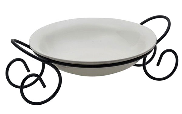 Symphony Alfresco Round Bowl With Rack ES3851
