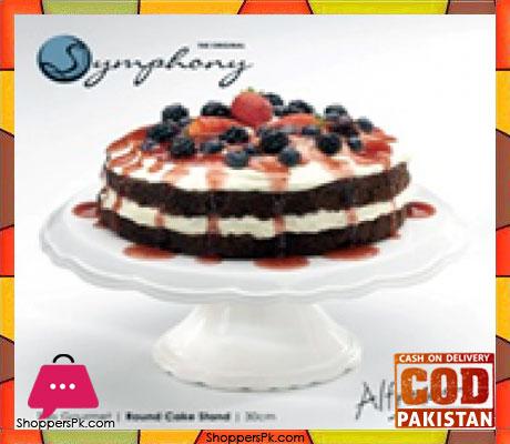 Symphony Alfresco Round Cake Stand 30CM SYE1000