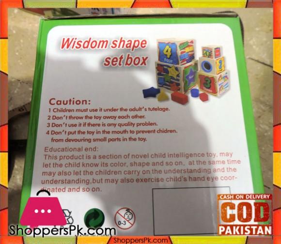 Wisdom Shape Set Box Wooden