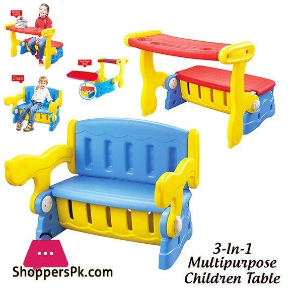 3 in 1 MultiPurpose Children Table XR0006